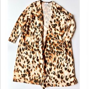 LuLaRoe Sarah Duster Cardigan animal print size M
